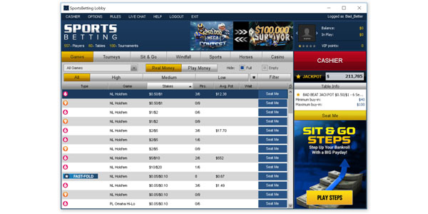 Компьютерный клиент Sports Betting